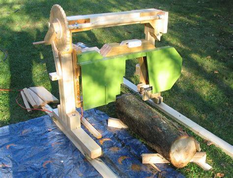 backyard sawmill backyard lumber milling