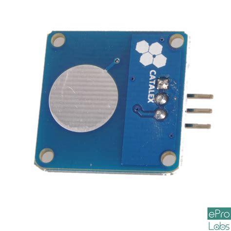 Sensor Sentuh Kapasitif Ttp223 Touch Sensor ttp223 capacitive touch sensor single key epro labs