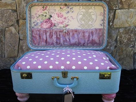 suitcase dog bed dog bed vintage suitcase