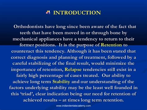 Cd E Book Rention And Stability In Orthodontics retention relapse certified fixed orthodontic courses by indian de