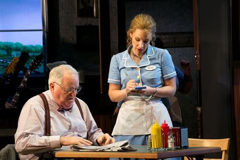 An American Play A R T S Paulus Cooks Up Waitress The Musical From And It S Not Quite As Easy As Pie