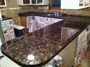 Granite Countertops Diy Why Spend More Faux Granite Countertops