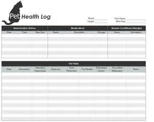 health record template 28 health record template printable puppy