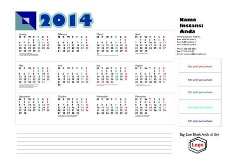 desain kalender cantik dengan coreldraw x3 download kalender 2014 gratis dilengkapi hari hari libur