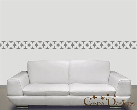 Wall Stickers Borders border vinyl wall decal 14 ft long home decor removable