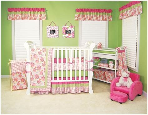 pink and green baby bedding crib bedding sets to liven up your baby s nursery
