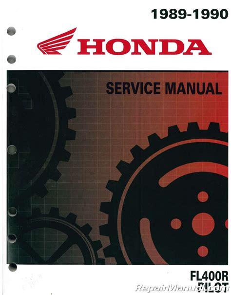 1989 1990 Fl400r Honda Pilot Service Manual 61he001 Ebay