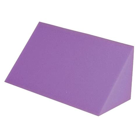 disposable foam positioning wedges purple medline