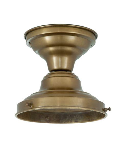 Schoolhouse Flush Fixture 6 Quot Fitter Antique Brass