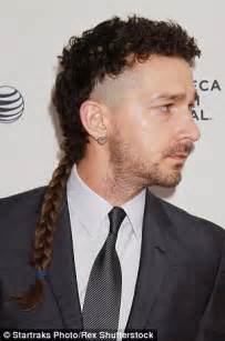 Shia Labeouf Hairstyle by Shia Labeouf Ditches His Rattail For More Conventional