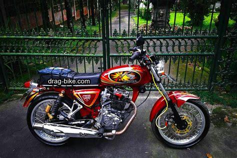 Gambar Motor Yang Bagus by 51 Foto Gambar Modifikasi Motor Cb 100 Terbaik Kontes Drag