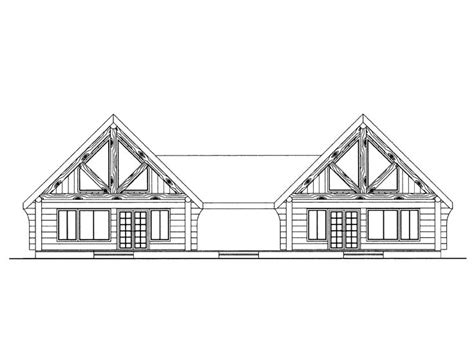 multi family home design duplex house plans log cabin style multi family home