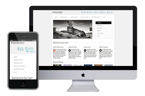 burnstudio responsive html5 template html5xcss3 photobiz responsive html5 template html5xcss3