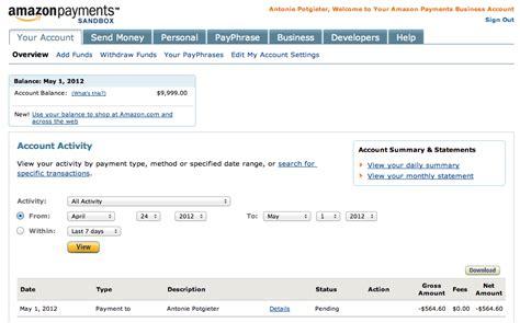 amazon account wordpress shopping cart plugin amazon fps payment gateway