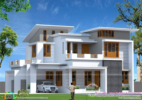 home design for 1800 sq ft 1800 square slanting roof mix home kerala home