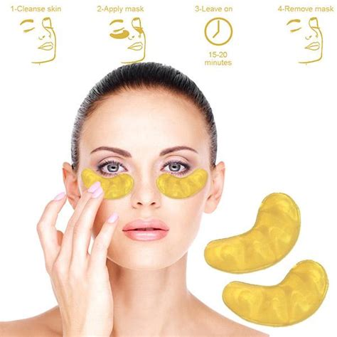 Gold Collagen Eye Mask mofajang unisex diy hair color wax mud dye temporary