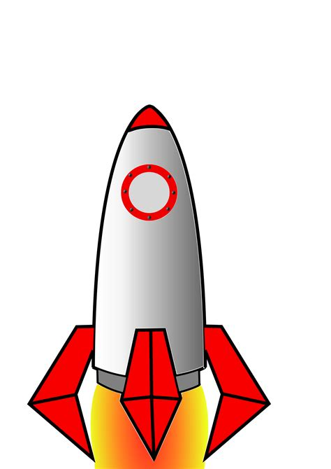 Small by Clipart Cohete Rocket