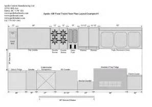 Food Truck Floor Plan Food Truck Floor Plans Schematics And Layouts For Apollo