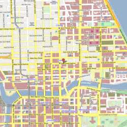Map Of Downtown Chicago Hotels hilton garden inn chicago downtown magnificent mile