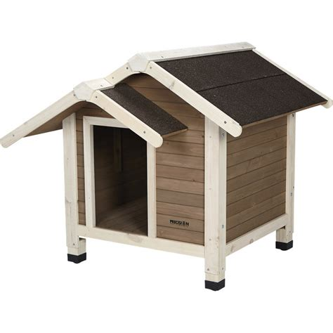 precision pet dog house precision pet products outback twin peaks dog house 37in l x 35in w x 31in h