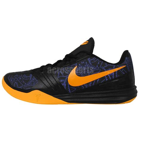 bryant shoes for basketball nike kb mentality black purple gold bryant 2015 mens