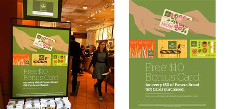 Panera Gift Card Promotion - panera gift cards giving the gift of good taste willoughby design