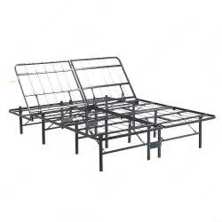 Metal Bed Frame Adjustable New Size Support Adjustable Metal Bed Frame Platform Mattress Foundation In Beds From