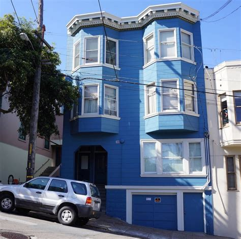 Maison Bleue San Francisco Adresse by Une Maison Bleue San Francisco Radio Satellite