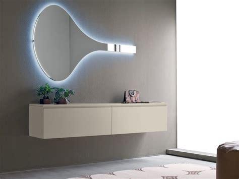 canapé suspendu logika 6 mobile ingresso con specchio in diversi colori