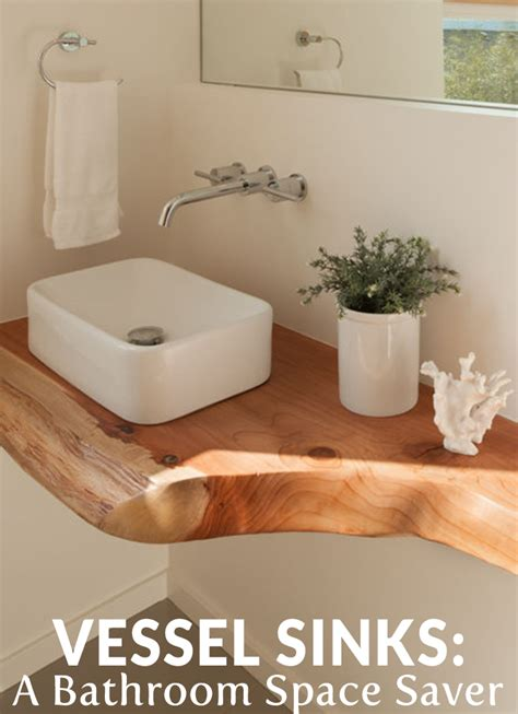 Bathroom Space Saver Ideas by Vessel Sinks A Bathroom Space Saver Bathroom Renovation