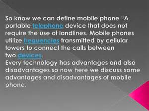 Essay On Mobile Phones Advantages And Disadvantages In by Advantages And Disadvantages Of Mobile Phone