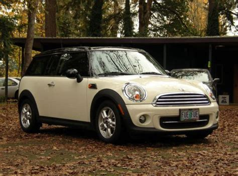 where to buy car manuals 2012 mini clubman electronic valve timing buy used 2012 mini cooper clubman wagon in portland oregon united states