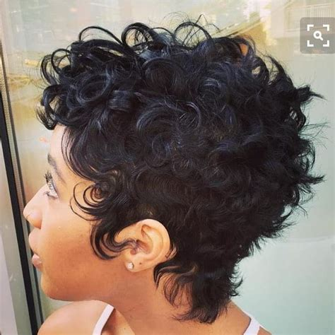 pixie curly hair products women s messy textured curly q pixie