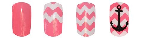 Chevron Pattern Gel Nails | how to apply chevron tape