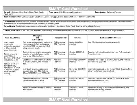 goal setting template for work scope of work template smart goals best