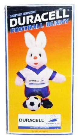 N Bunny Cup No Box figurine publicitaire duracell lapin footballeur