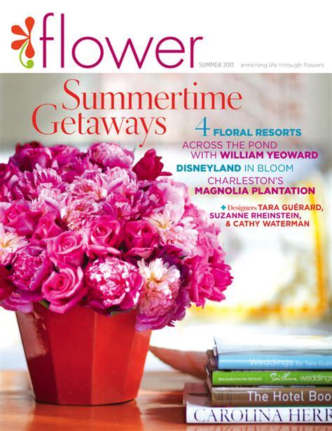 hot off the press flower magazine tara gu 233 rard soir 233 e