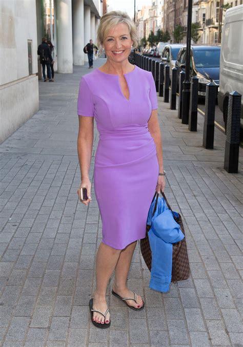 Caroll Dress carol kirkwood looks in lilac as she admits she