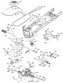 ariens 936056 960460023 03 46 quot hydro tractor parts diagram for drive