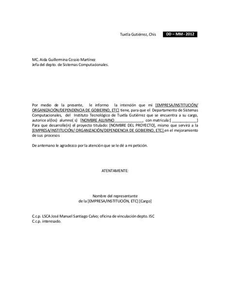 modelo de solicitud simple de permiso formato para solicitud de residentes empresa