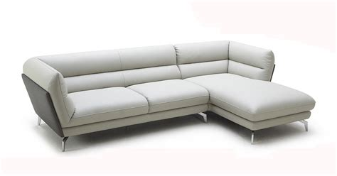 grey leather sectional poppy modern grey leather sectional sofa