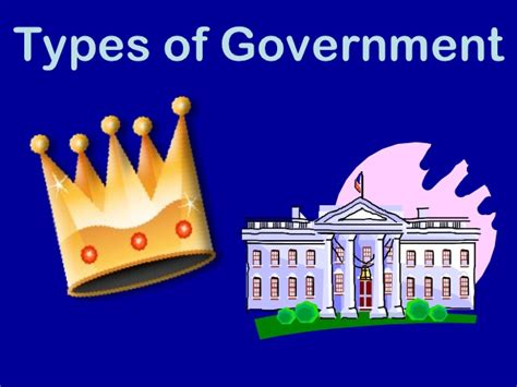 Type Of Government Types Of Government