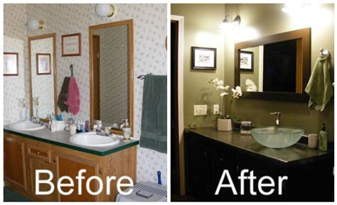 how to remodel a mobile home bathroom really want to paint the bathroom cabinents this espresso