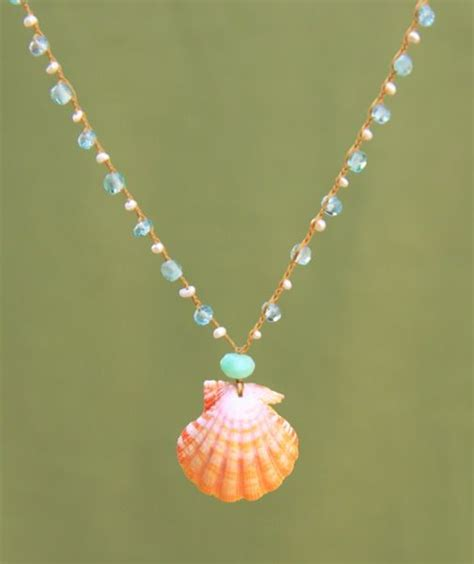 shells for jewelry 25 best ideas about seashell necklace on