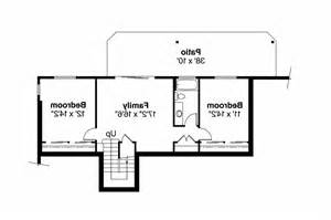 daylight basement plans ranch house plans gatsby 30 664 associated designs