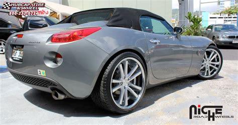 2006 pontiac solstice tire size pontiac solstice niche concourse m885 wheels matte black