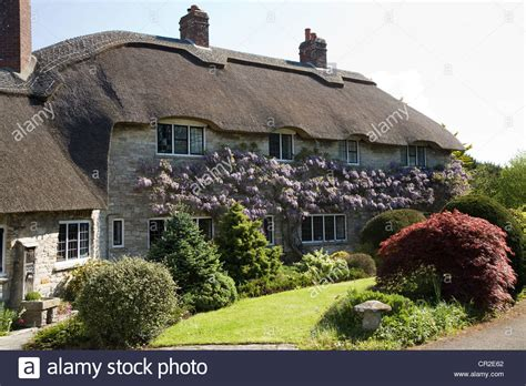 Corfe Cottages by Beautiful Built House Houses With Thatch