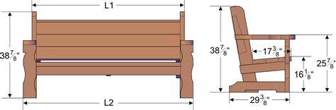 dimensions of bench 28 model woodworking bench size egorlin com