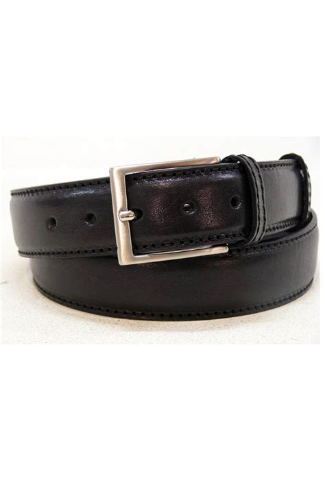 casual black leather belt accessories belts