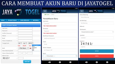 membuat akun   jayatogel info jayatogel